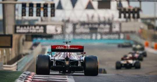 kimi raikkonen - alfa romeo racing - gp de abu dhabi 2019 f1 carrera