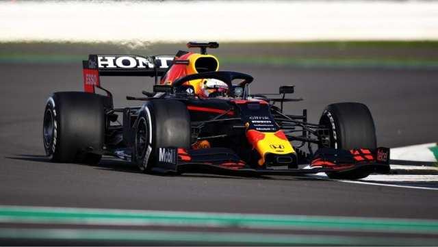 El Red Bull RB16B ya rueda en Silverstone