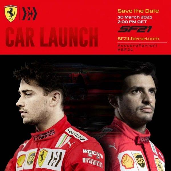 OFICIAL: Ferrari confirma el día de la presentación del SF21
