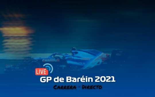 Gran Premio de Baréin 2021. Carrera en directo