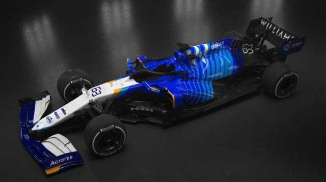OFICIAL: Williams presenta el FW43B, el coche de George Russell y Nicholas Latifi para 2021