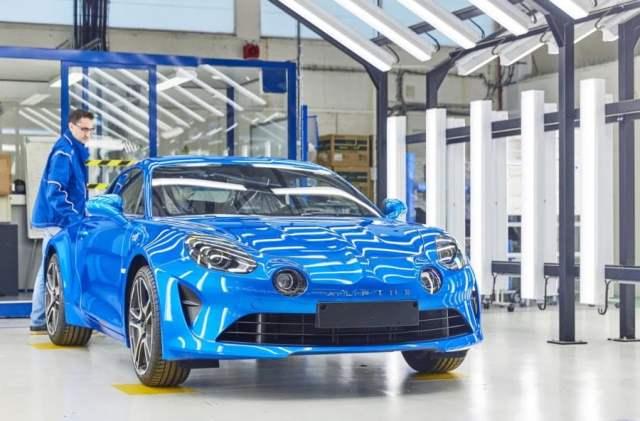 La factoria de Dieppe se encarga de la producción de Alpine