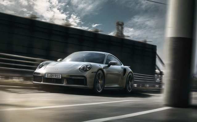 Porsche 911 Turbo S en acción