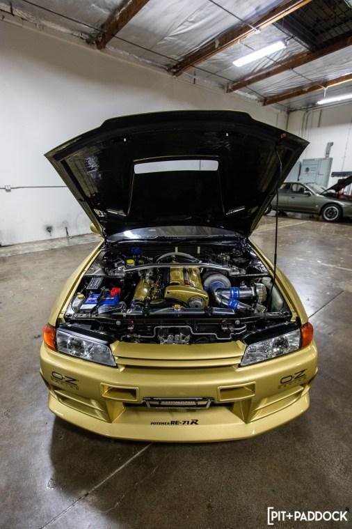 Smokey Nagata Sells Top Secret  Gold R32 Skyline GT-R To US Car Collector