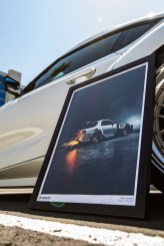 Mazda RX-7 With 700hp 13B-REW Shoots Flames For Inaugural Pit+Paddock Poster Shoot