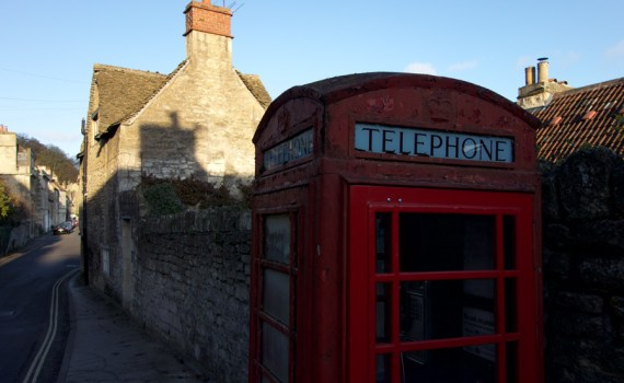 Pit Productions Phone Box In Bradford on Avon UK