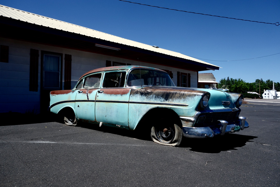 Parked in Oregon