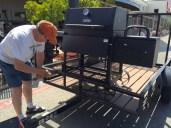 new BBQ pit