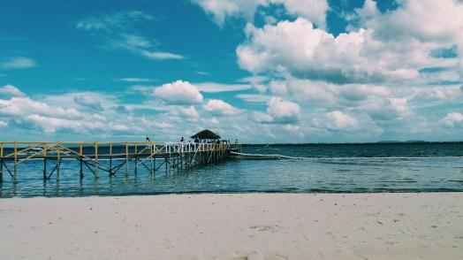 Dock at Isla de Francesco