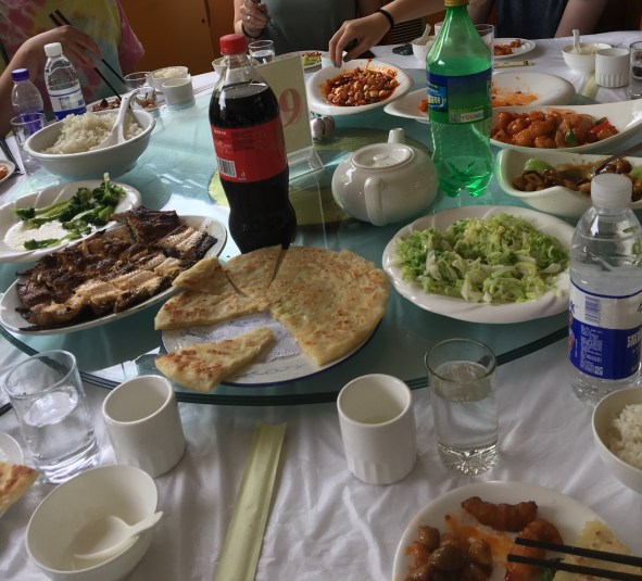 Just some of the delicious foods we had for lunch.