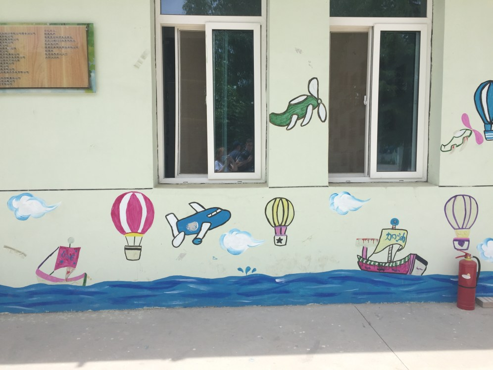 Some decorations at the Children's Village