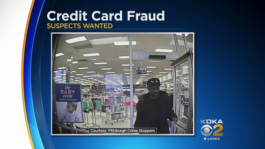 report the offence to the relevant bank or card company, which will then be responsible for reporting the matter to the police. Police Release Surveillance Photos Of Credit Card Fraud Suspects - CBS Pittsburgh