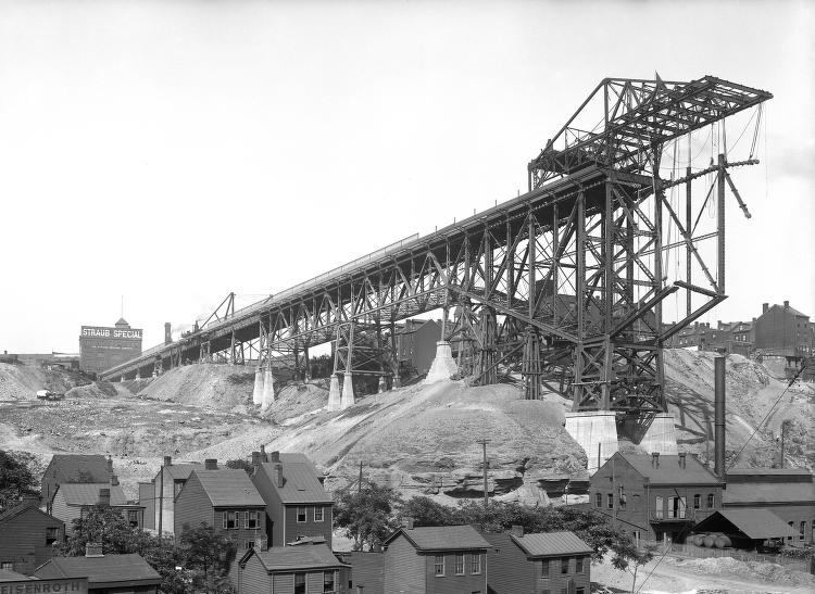 Bloomfield Bridge Construction