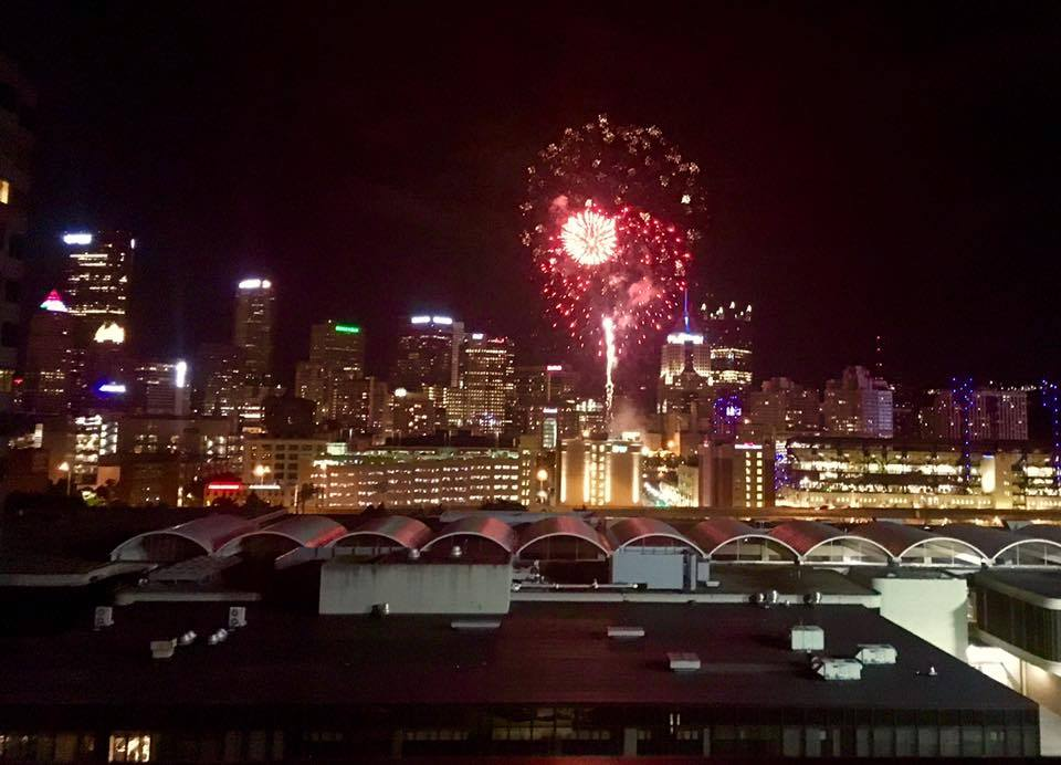 Pittsburgh Beautiful Fireworks