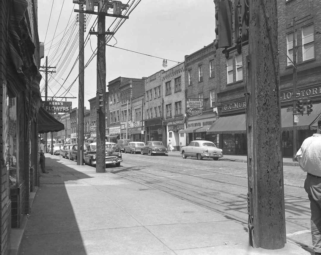 2nd Avenue Hazelwood c.1957
