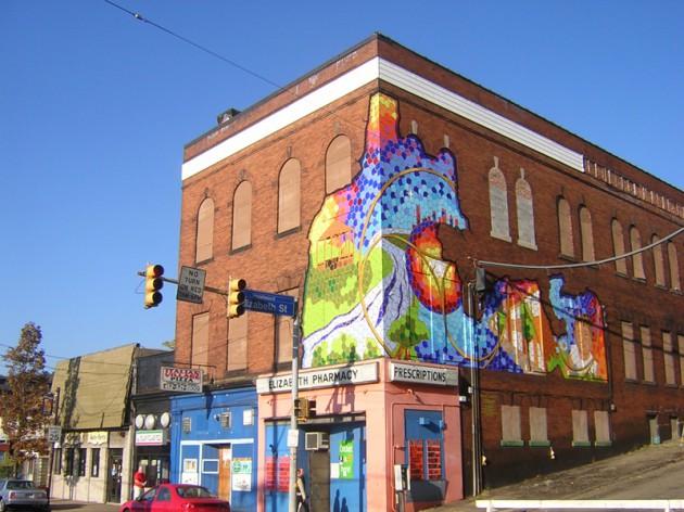 Kip Herring Mural in Hazelwood