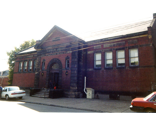 Original Hazelwood Branch Carnegie Library