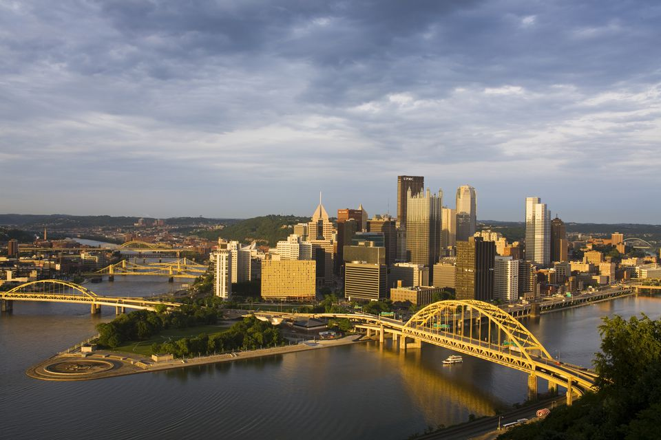Pittsburgh in the Springtime