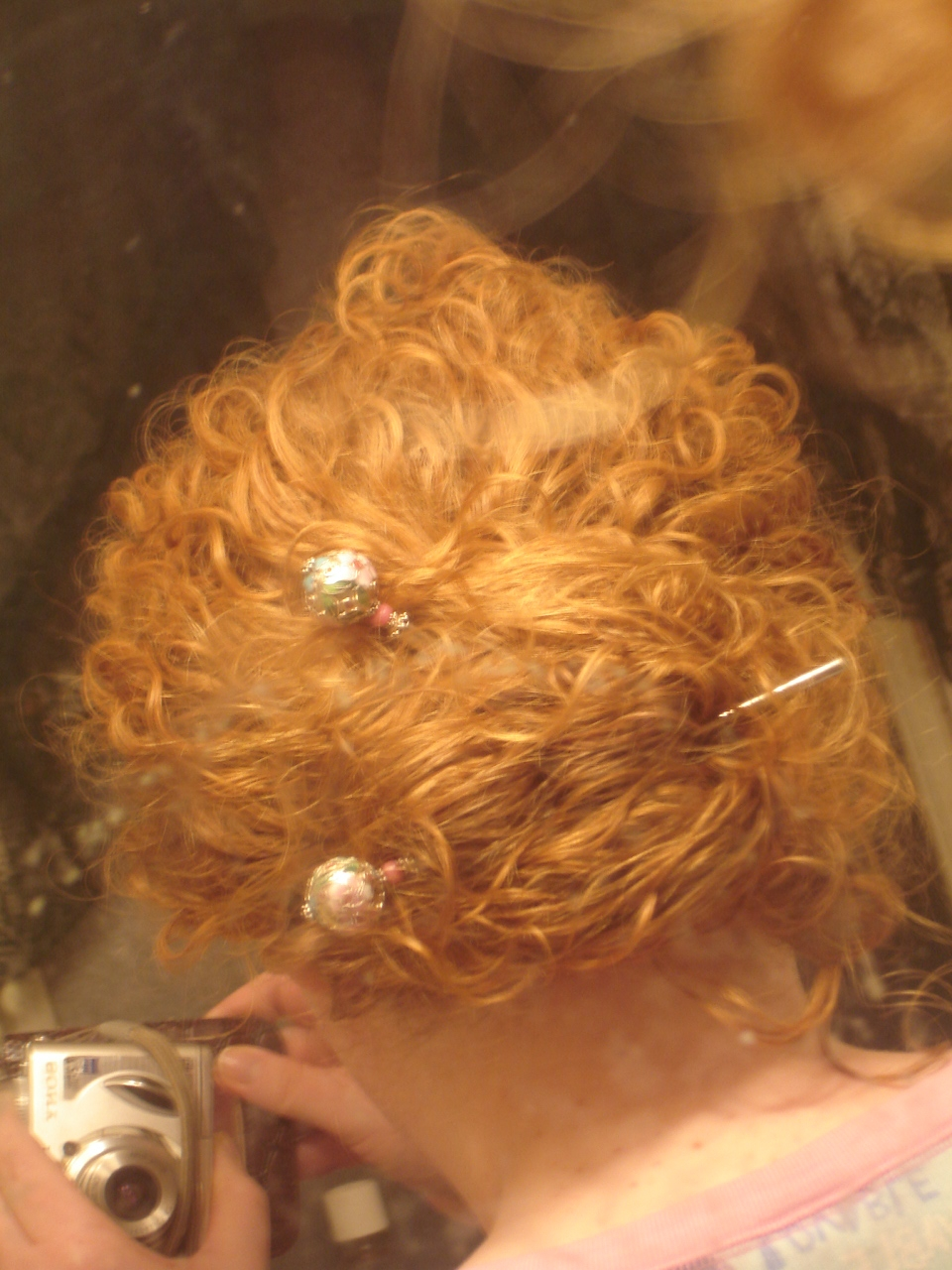 Cinese Bun 1st day hair