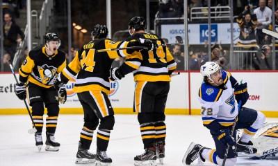 Pittsburgh Penguins score vs. st. Louis