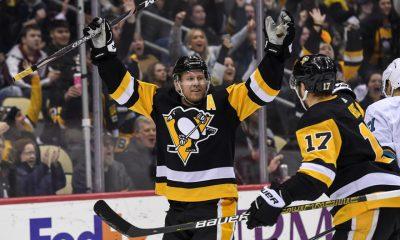 Pittsburgh Penguins score Patric Hornqvist