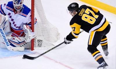 Pittsburgh Penguins Sidney Crosby New York Rangers