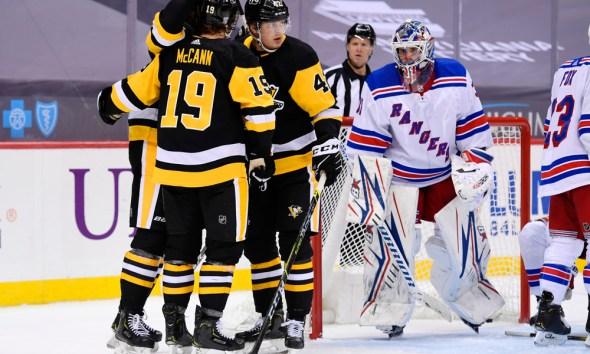 Pittsburgh Penguins game, Jared McCann