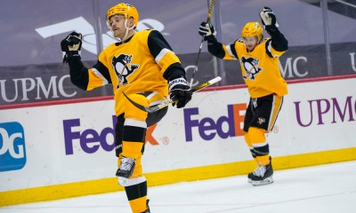 Pittsburgh Penguins Bryan Rust, Jared McCann