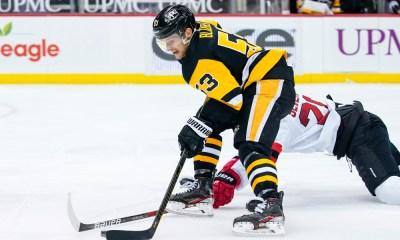 Pittsburgh Penguins game, Teddy Blueger