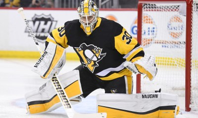 Penguins goalie Matt Murray