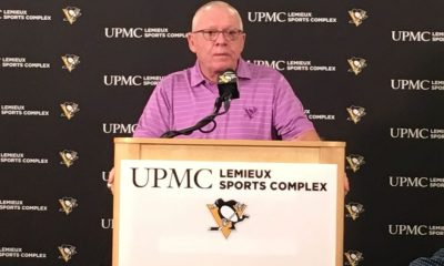 Jim Rutherford Pittsburgh Penguins GM