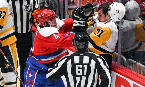 Pittsburgh Penguins Washington Capitals