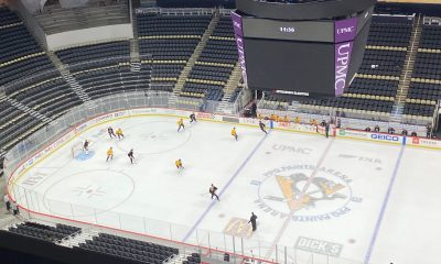 Pittsburgh Penguins training camp scrimmage
