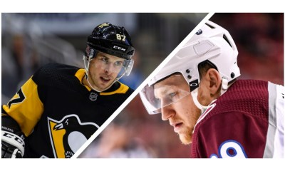 Sidney Crosby Nathan MacKinnon Photos From IconSportsWire