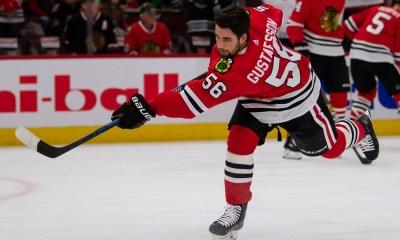 Penguins Trade deadline rumors Erik Gustafsson Chicago Blackhawks