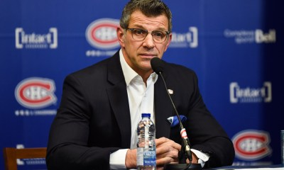 Pittsburgh Penguins vs. Montreal Canadiens, GM Marc Bergevin