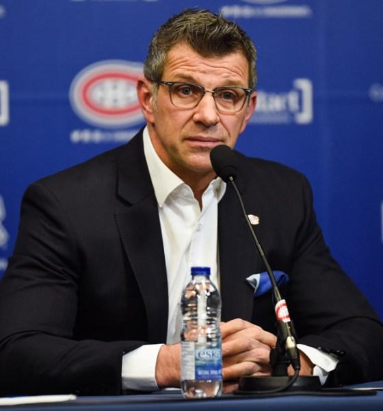 Pittsburgh Penguins vs. Montreal Canadiens, GM Marc Bergevin