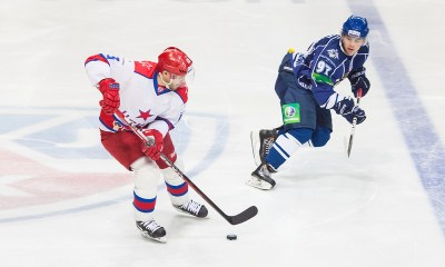 PAvel Datsyuk Left), Nikita Gusev Right)