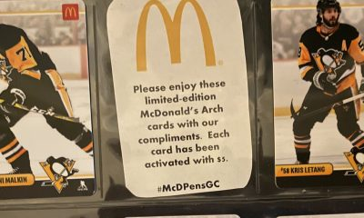Pittsburgh Penguins McDonald's