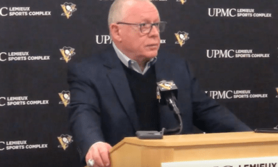 Pittsburgh Penguins GM Jim Rutherford Announces Gudbranson Trade