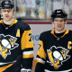 Pittsburgh Penguins Sidney Crosby and Evgeni Malkin