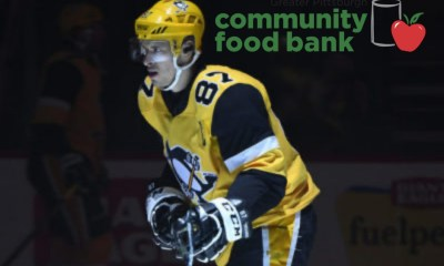 Sidney Crosby Pittsburgh Penguins Charity