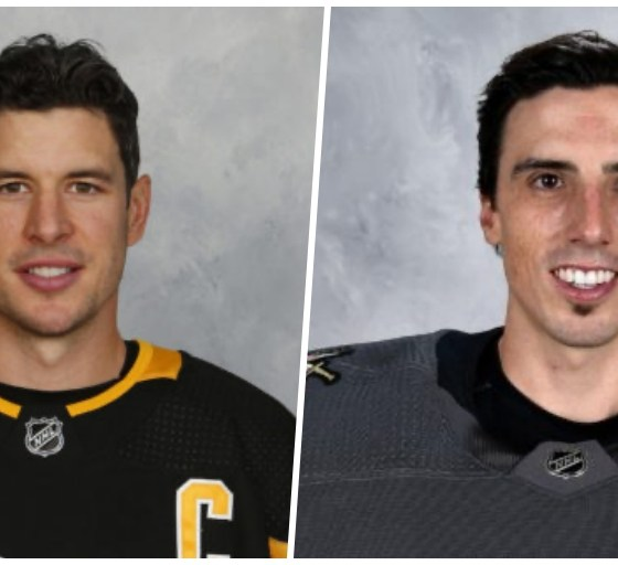 Pittsburgh Penguins Sidney Crosby, Marc-Andre Fleury