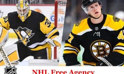 Pittsburgh Penguins, NHL free agent, Matt Murray, Torey Krug