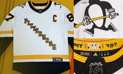Pittsburgh Penguins reverse retro jerseys