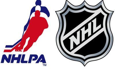 NHL CBA NHL Return NHLPA logos
