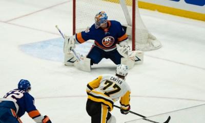 Pittsburgh Penguins Jeff Carter, Islanders