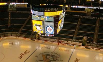 Pittsburgh Penguins Winnipeg Jets PPG Paints Arena