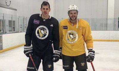 Pittsburgh Penguins alex galchenyuk and evgeni malkin