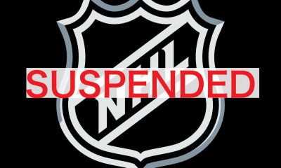 NHL season suspended due to coronavirus